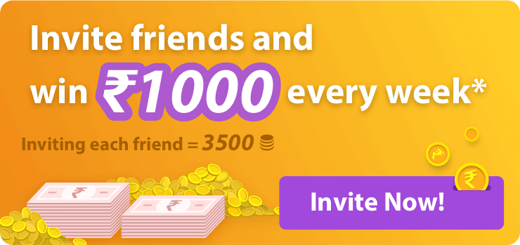 You have been invited to earn real rewards with NewsDog - India's best news APP. Receive ₹50 on installation, and a chance to win more than ₹1000 every week.